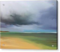 Dark Cloud - Punta Cana Acrylic Print by Dennis Kirby