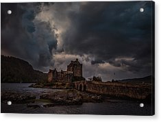 Acrylic Print featuring the photograph Dark Clouds #h2 by Leif Sohlman