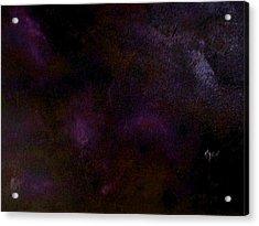 Dark Colors Acrylic Print by Guillermo Mason