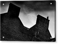 Dark Day In The Fens Acrylic Print by Jez C Self