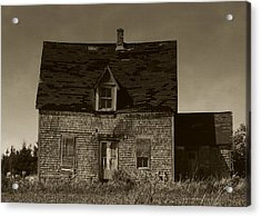 Acrylic Print featuring the photograph Dark Day On Lonely Street by RC DeWinter