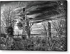 Acrylic Print featuring the photograph Dark Days by Brian Wallace
