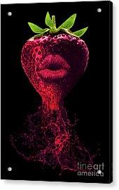 Deep Flavor Acrylic Print by Prar Kulasekara
