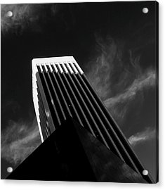 Acrylic Print featuring the photograph Dark Geometry by Kevin Bergen