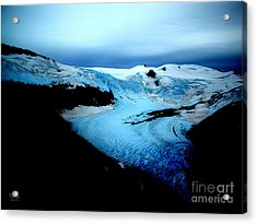 Dark Glacier Acrylic Print