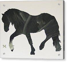 Dark Horse Coming Acrylic Print