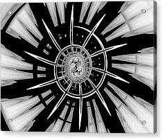Dark Liberty Acrylic Print