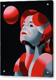 Dark Matter 10 Acrylic Print by Mark Webster