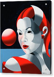 Dark Matter 8 Acrylic Print by Mark Webster