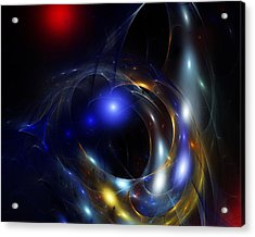 Dark Matter Revealed Acrylic Print