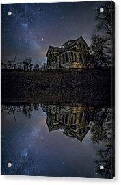 Acrylic Print featuring the photograph Dark Mirror by Aaron J Groen