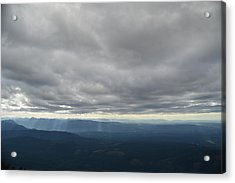 Dark Mountains Acrylic Print