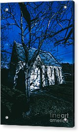 Dark Mysterious Church Acrylic Print by Jorgo Photography - Wall Art Gallery
