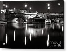Acrylic Print featuring the photograph Dark Nocturnal Sound Of Silence by Silva Wischeropp