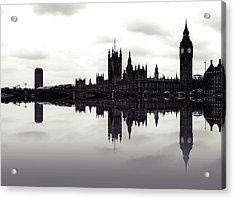 Dark Reflections Acrylic Print by Sharon Lisa Clarke