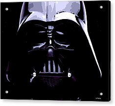 Dark Side Acrylic Print by George Pedro