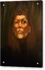 Dark Sister Of The Black Sun Cult Acrylic Print