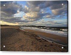Dark Skies And Sea - Nova Scotia Seascape Acrylic Print