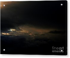 Acrylic Print featuring the photograph Dark Sky by Erica Hanel