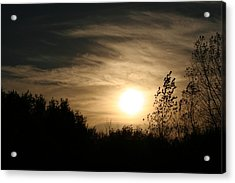 Dark Sunset Acrylic Print