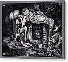 Dark Surprise Acrylic Print by Otto Rapp