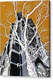 Dark Tower Acrylic Print by Sarah Loft