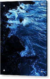 Acrylic Print featuring the digital art Dark Water by Julian Perry