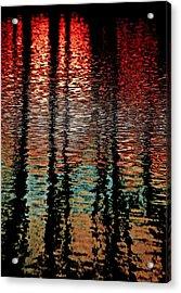 Dark Waters Acrylic Print by Gillis Cone