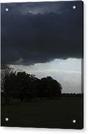 Acrylic Print featuring the photograph Darkened Horizons by Maggy Marsh