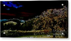 Darkness At The Edge Of Dawn Acrylic Print by JoAnn SkyWatcher