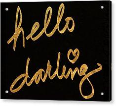 Darling Bella I Acrylic Print