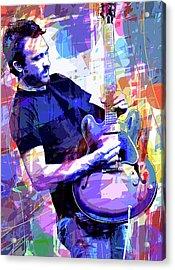 Darren Glover - Blues Note Acrylic Print