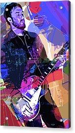Darren Glover Les Paul Gibson Acrylic Print