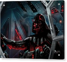 Darth Vader, Imperial Ace Acrylic Print