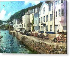 Bayards Cove Dartmouth Devon  Acrylic Print