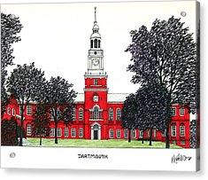 Dartmouth Acrylic Print by Frederic Kohli