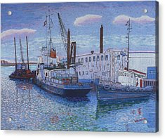 Dartmouth Marine Slips Acrylic Print