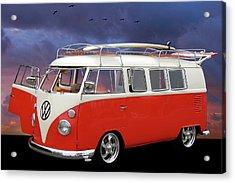 Das Bus Acrylic Print