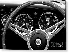 Acrylic Print featuring the photograph Dashboard by Stephen Mitchell