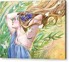 Daughter Of The King Acrylic Print by Sara Burrier