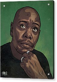 Dave Chappelle Acrylic Print