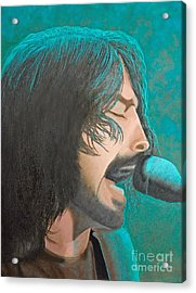 Dave Grohl Of The Foo Fighters Acrylic Print