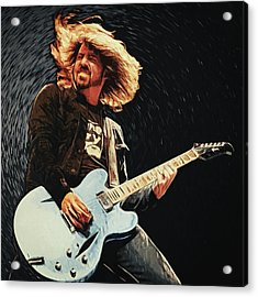 Dave Grohl Acrylic Print