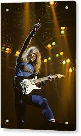 Dave Murray Of Iron Maiden Acrylic Print