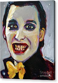 Dave Vanian Of The Damned Acrylic Print