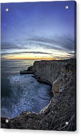 Davenport Bluffs At Sunset Acrylic Print