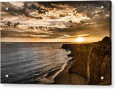 Davenport Cliffs Acrylic Print