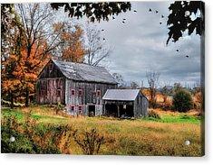 Davenport Farm - Connecticut Scenic Acrylic Print by Thomas Schoeller
