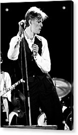 David Bowie 1976 #2 Acrylic Print by Chris Walter
