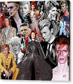 David Bowie 6 Acrylic Print